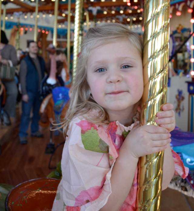 friend play day at the silver beach carousel